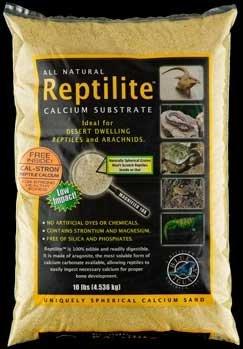 Carib Sea SCS10731 4-Pack Reptiles Calcium Substrate Sand, 10-Pound, Sunshine Yellow