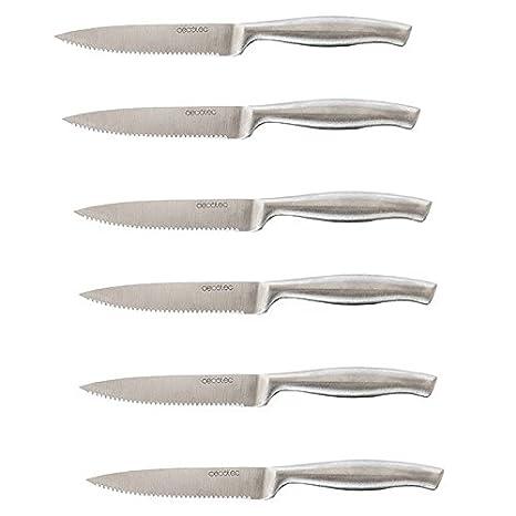 Cecotec Cuchillos Profesionales de Carne con Sierra