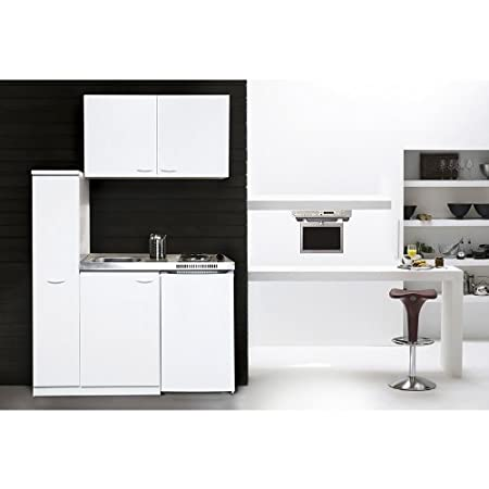 Beautiful Respekta MK 130 WOS Mini Kitchen Unit Including Double Hot Plate And Wall  Units