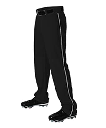 7ef2916d00a Amazon.com  Alleson Adult Mens Pants Baseball Pant Piping Braid ...