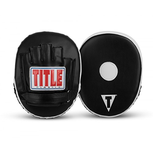 Title Boxing TITLE Classic Panther Micro Mitts, Black (Panther Punch Mitts)