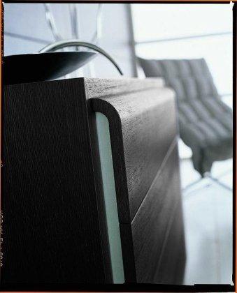 VIG Furniture VGSMMATRIX--DR SMA Matrix Ebony by VIG Furniture