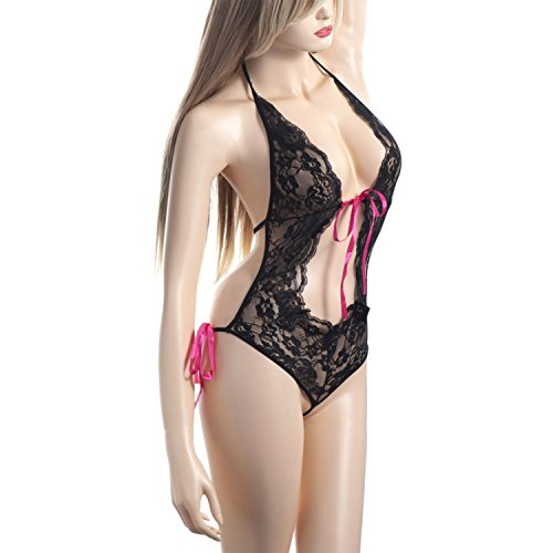 Zodaca Lingerie Leather Babydoll Chemise product image