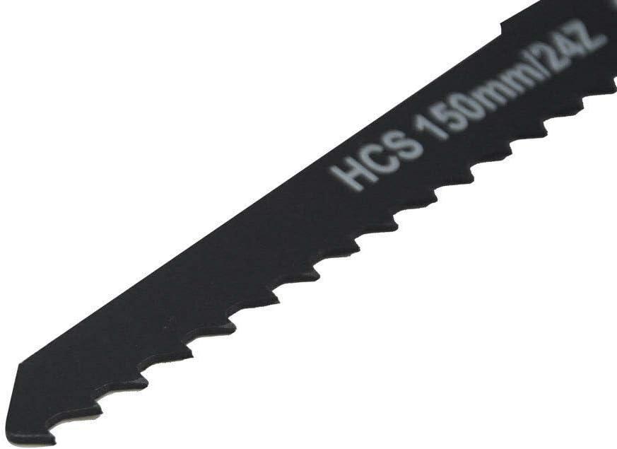 7 hojas de sierra de 56 a 300 mm HCS//BIM para madera de metal