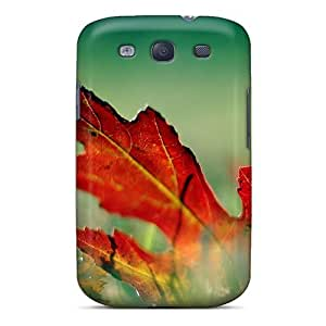 Awesome CfDCvda7607fEzAy AnnetteL Defender Tpu Hard Case Cover For Galaxy S3- Autum Leaf