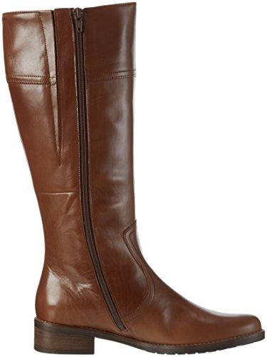 Gabor Shoes Comfort Sport, Botas de Montar para Mujer Marrón (caramello micro)