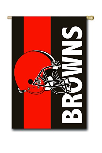 Cleveland Browns Embellish Reg Flag, Multicolor ()