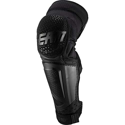 Leatt 2019 3DF Hybrid EXT Knee & Shin Guards (Large/X-Large) (Black)