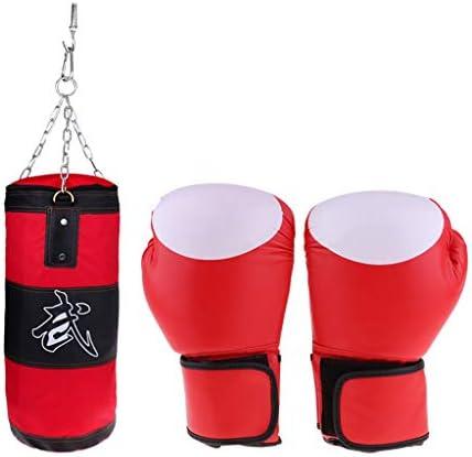 F Fityle サンドバッグ ボクシング パンチバッグ ボクシンググローブ 筋トレ トレーニング フィットネスセット全24選択