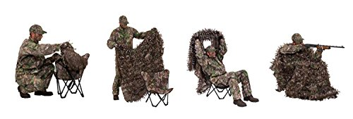 Ameristep Gunner Hunter 3-D Chair and 3-D Cover System, Realtree Xtra Green by Ameristep (Image #4)