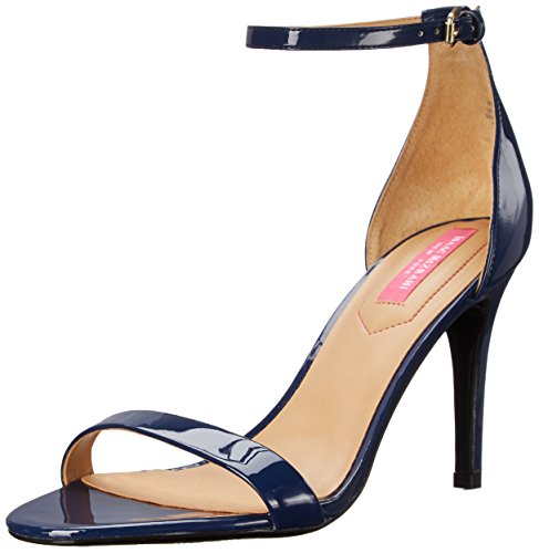 Isaac Mizrahi New York Women's Popular Dress Sandal, Navy Patent, 9.5 M US