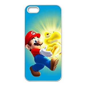 iPhone 4 4s Cell Phone Case White New Super Mario Bros. U LSO7726171