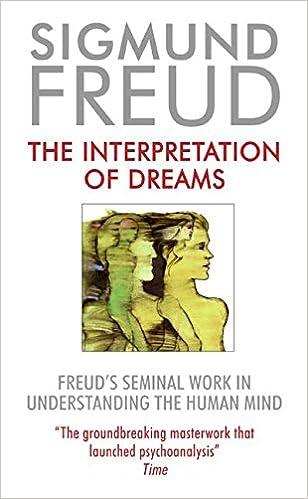 Interpretation Of Dreams The Sigmund Freud 9780380010004 Amazon