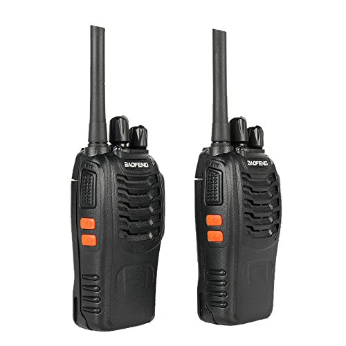 Baofeng BF-88A FRS Two Way Radio (Upgrade Version of BF-888S) 16 Channels Handheld Rechargeable License Free Walkie Talkies with USB Charger + Earpiece, 2pcs by BaoFeng (Image #5)