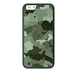 Case Fun Case Fun Grey Camouflage TPU Rubber Back Case Cover for Apple iPhone 6 4.7 inch