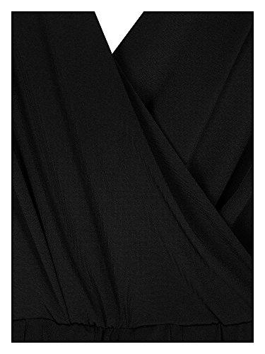 Zizzi Vestidos de cóctel tallas grandes Mujer negro