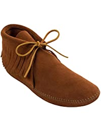 Men's Classic Fringe Moccasin Boot
