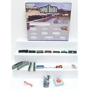 Bachmann Trains Empire Builder Electric Train Set, N Scale (24009-BT)