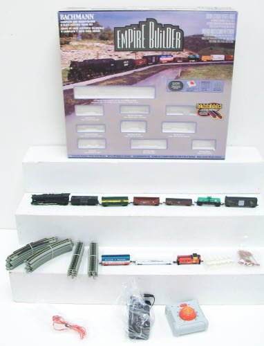 (Bachmann Trains Empire Builder – N Scale Ready to Run Electric Train Set - Designed for Advanced Train)