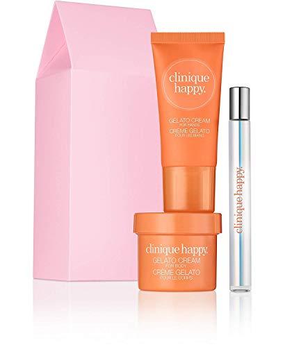Clinique Happy Treats Perfume Spray Body & Hand Lotion Set/Kit