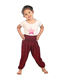 Lofbaz Children Hippy Thai Harem Aladdin Pirate Kids Pants Bohemian Baggy Colorful