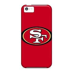 Apple Iphone 5c NdH14661CVXb Customized High-definition San Francisco 49ers 1 Skin Anti-Scratch Hard Phone Cover -LeoSwiech