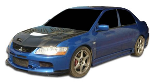 2003-2006 Mitsubishi Lancer Evolution 8 9 Duraflex MR Edition Side Skirts Rocker Panels - 2 Piece