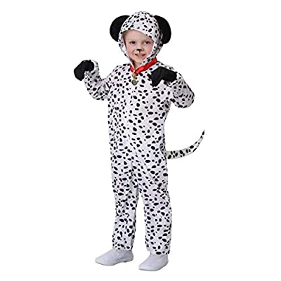 Toddler Delightful Dalmatian Costume: Clothing