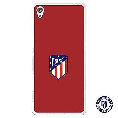 Atlético de Madrid Carcasa Oficial Escudo Sobre Fondo Rojo ...