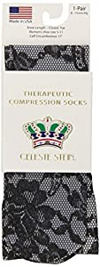 Celeste Stein CMPS-1931 Therapeutic Compression Socks, 0.6 Ounce