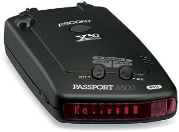 Escort Passport 8500 X50 Radar & Laser Detector