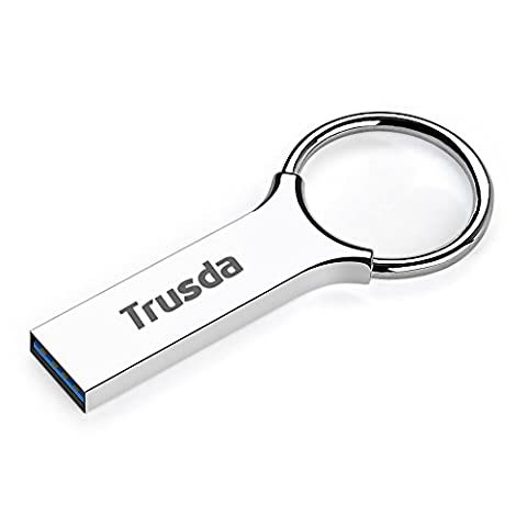USB 3.0 64GB Full Metallic Flash Drive,Trusda