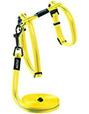Rogz Alleycat Cat Harness and Lead, Dayglow, Small