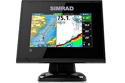 "Simrad GO5 XSE 5"" Fishfinder/Chartplotter - No Transducer"