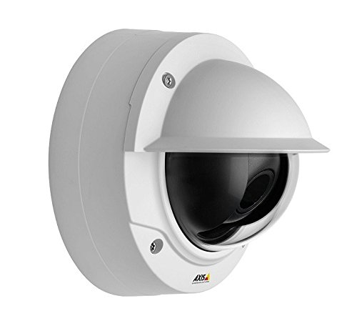 Axis Communications 0612-001 P3214-V Fixed Dome Network surveillance camera, White