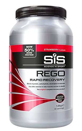 (Sis REGO Rapid Recovery 1.6Kg Sports Fuel Drink Powder - Strawberry)