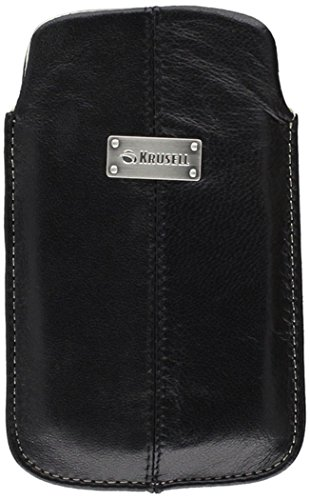Krusell Luna Large Premium Leather Pocket Pouch for iPhone 4 / 4S and other Smartphones with 3.5 / 4.0 inch Screen  - ()