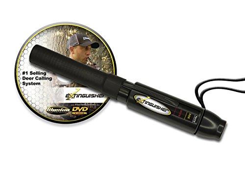Extinguisher Deer Call (Black) with DVD Instructional! (Renewed)