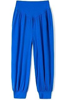 AvaCostume Boys Baggy Casual Harem Pants Girls Dance Trousers