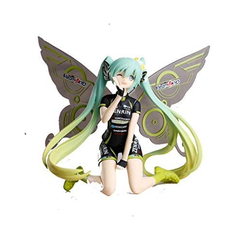 JIANPING Toy Model Anime Characters Hatsune Miku Souvenir/Collectibles/Crafts/Gifts 2017 Butterfly Hatsune 10cm Model -