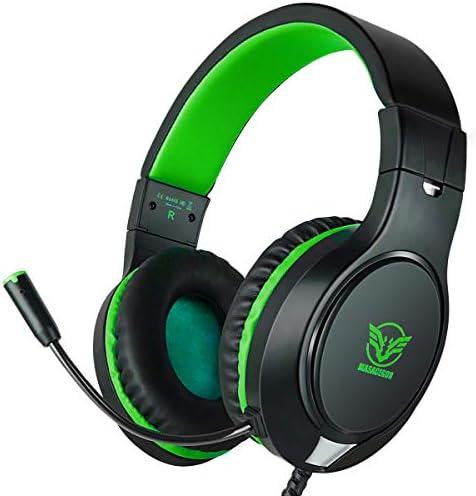 ゲーミング ヘッドセット ヘッドホン ヘッドフォン マイク付き ゲーム用 高音質 有線 Xbox one PC ps4に対応 ブル