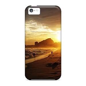 Anti-scratch And Shatterproof Copacabana Beach Phone Case For Iphone 5c/ High Quality Tpu Case