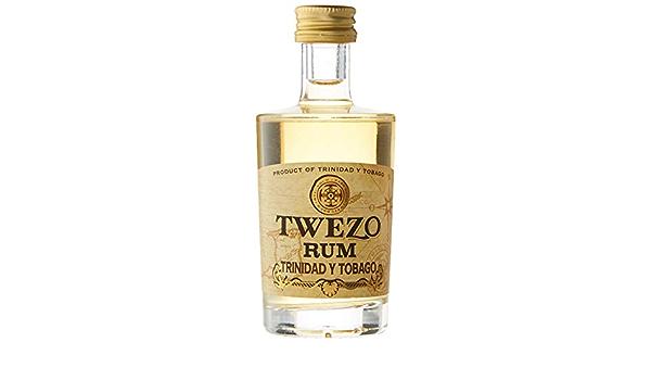 Twezo Trinidad y Tobago Rum - 50 ml: Amazon.es: Alimentación ...