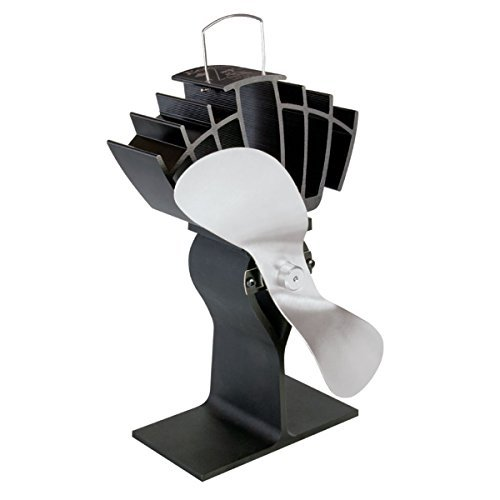 Midwest Hearth Eco Fans for Wood Stoves | Heat Powered Ecofan for Your Wood or Pellet Stove Heater |...