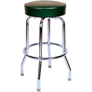 Richardson Seating 0-1950GRN24 Backless Swivel bar Stool with Chrome Frame Green 24  sc 1 st  Amazon.com : backless swivel bar stool - islam-shia.org