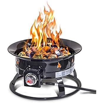 Amazon.com : Outland Firebowl 823 Outdoor Portable Propane ... on Outland Firebowl 21 Inch id=54733