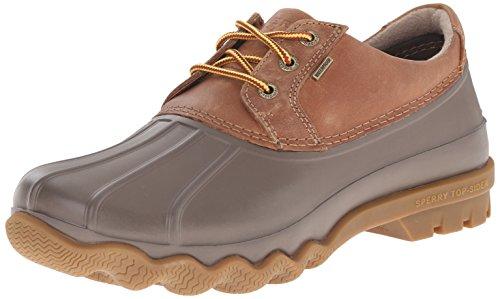 Sperry Top-Sider Men's Avenue Duck 3-Eye Winter Boot, Tan/Brown, 8.5 M US