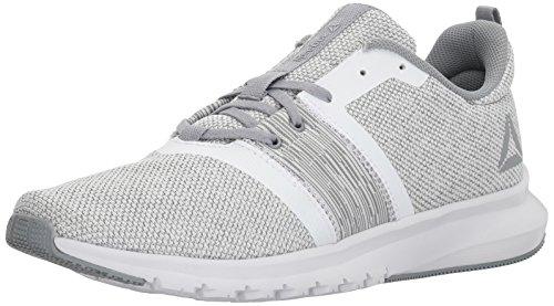 Mens Reebok Stampare Lite Corsa Gr Sneaker Gr - Flint Grigio / Porcellana