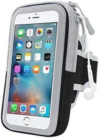 YDFSBB Soporte para Teléfono Celular Estuche Brazalete Correa con Bolsa con Cremallera/Ejercicio Móvil Running Sport para Apple iPhone 6 7 8 iPod Touch Brazalete Negro: Amazon.es: Deportes y aire libre