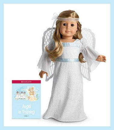 Dolls American Girl Doll Retired Sparkly Outfit Angel